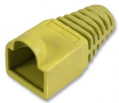 PRO POWER SH001 5 YELL  Strain Relief Boot 5Mm Yell 10/Pack